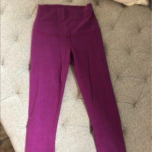 Cotton Lululemon crop leggings